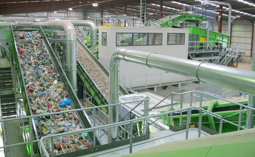 Municipal Solid Waste Processing Equipment   MSW Waste Recycling