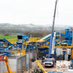 A general view of the new machinery at the ETM site