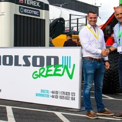 (l-r) Turmec's Brian Thornton and Robin Powell from Molson Green