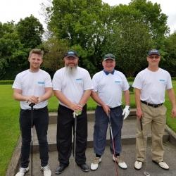 Left to Right Derek Healy, Mick Brady, Gerard Mc Loughlin and Alan Clarke